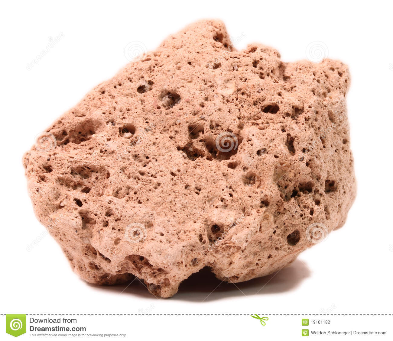 Pumice Stone Royalty Free Stock Photography.