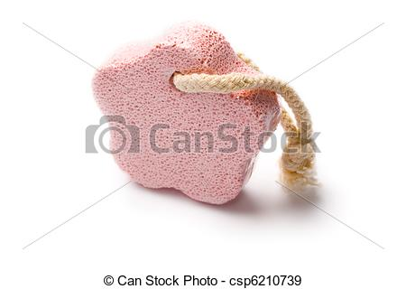 Stock Photographs of Pumice stone isolated on white csp6210739.