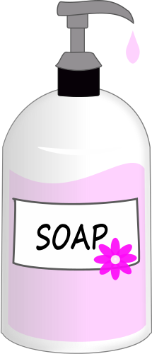 Hand Soap Clipart.