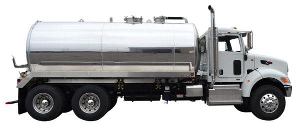 MAL4000 Aluminum Vacuum Service Pumper Truck for Septic.