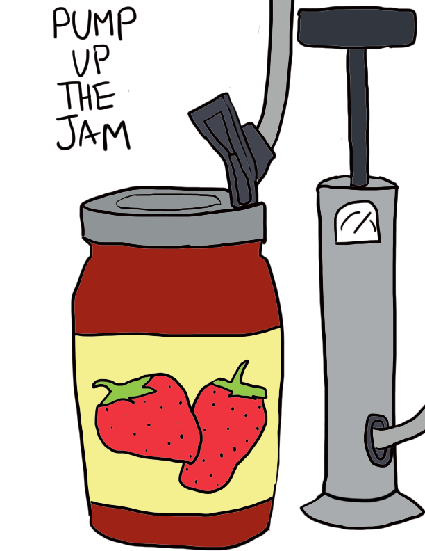PUMP UP THE JAM.