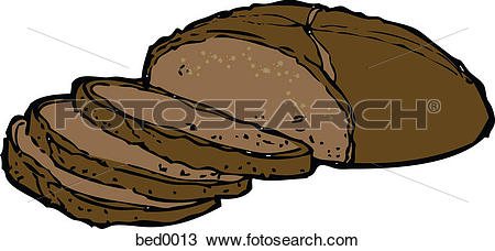 Drawing of Pumpernickel bread bed0013.