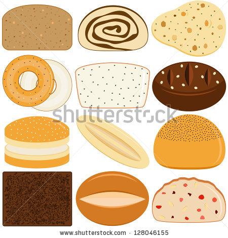 Pumpernickel Bread Stock Vectors & Vector Clip Art.