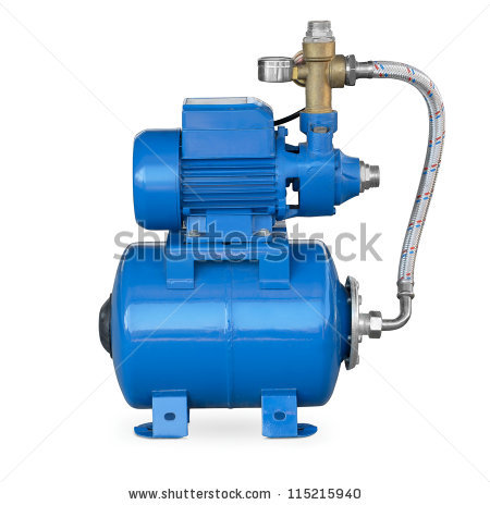 Electric water pump clipart.