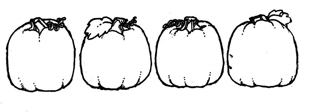 Best Pumpkin Clipart Black And White #1581.