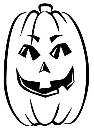 Pumpkin black and white pumpkin black and white clipart 2.