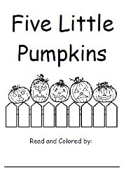 Halloween Fun with Five Little Pumpkins.