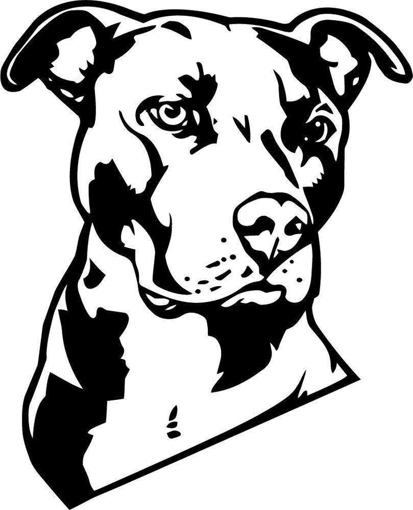 Pitbull Clipart Pumpkin Stencil.