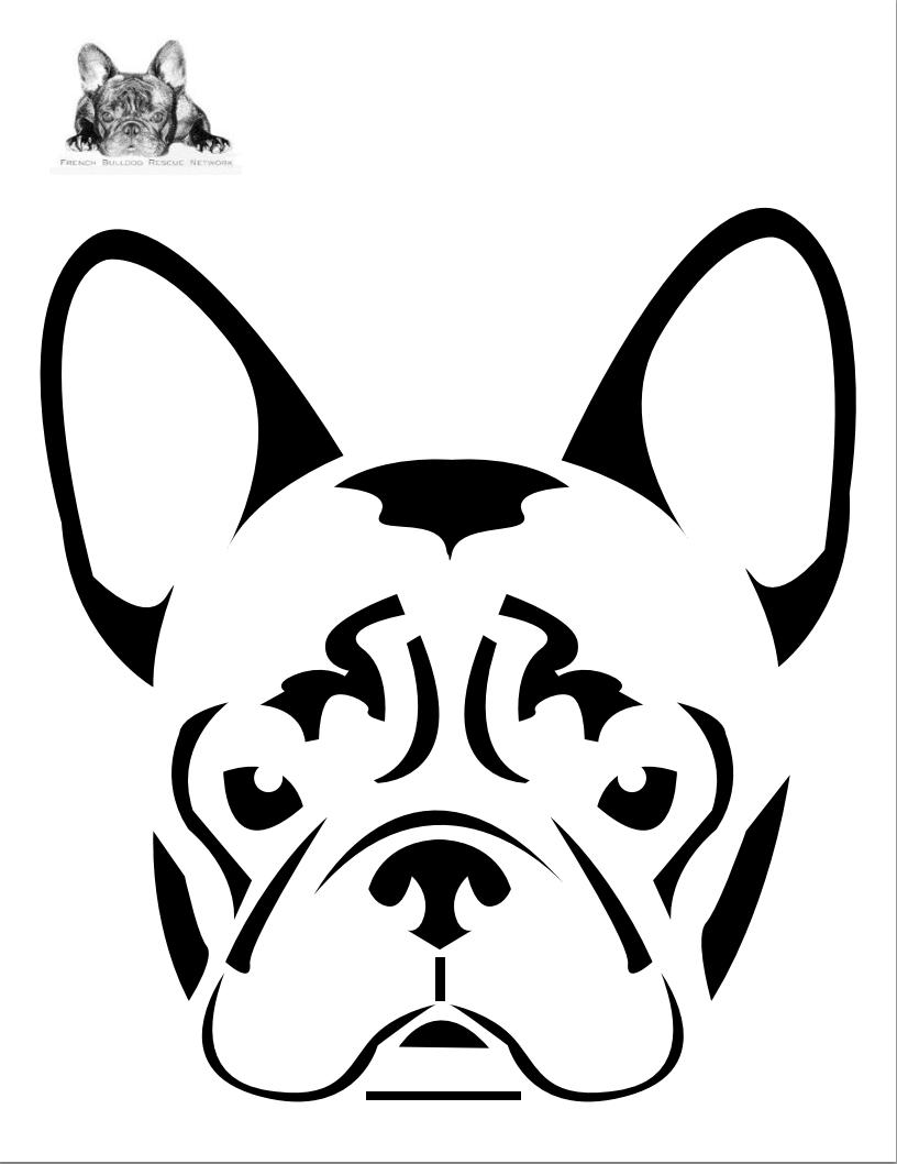 Tiger Paw Stencil.
