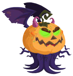 Evil Pumpkin Dragon.