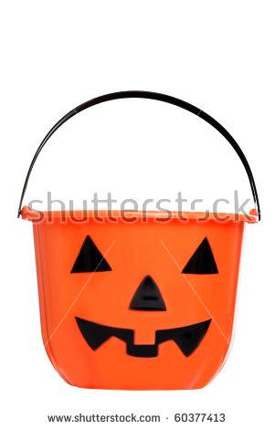 Pumpkin Bucket Stock Photos, Royalty.