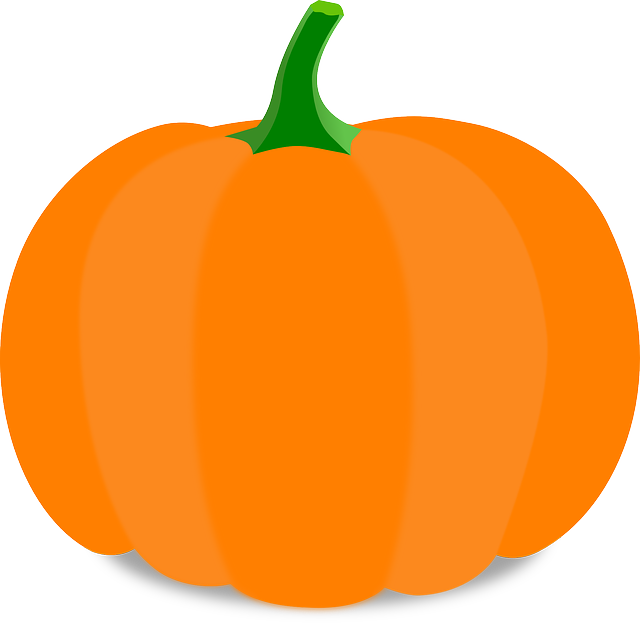 Free vector graphic: Pumpkin, Cartoon, Orange, Stem.