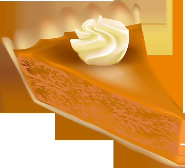 Pumpkin cheesecake clipart.