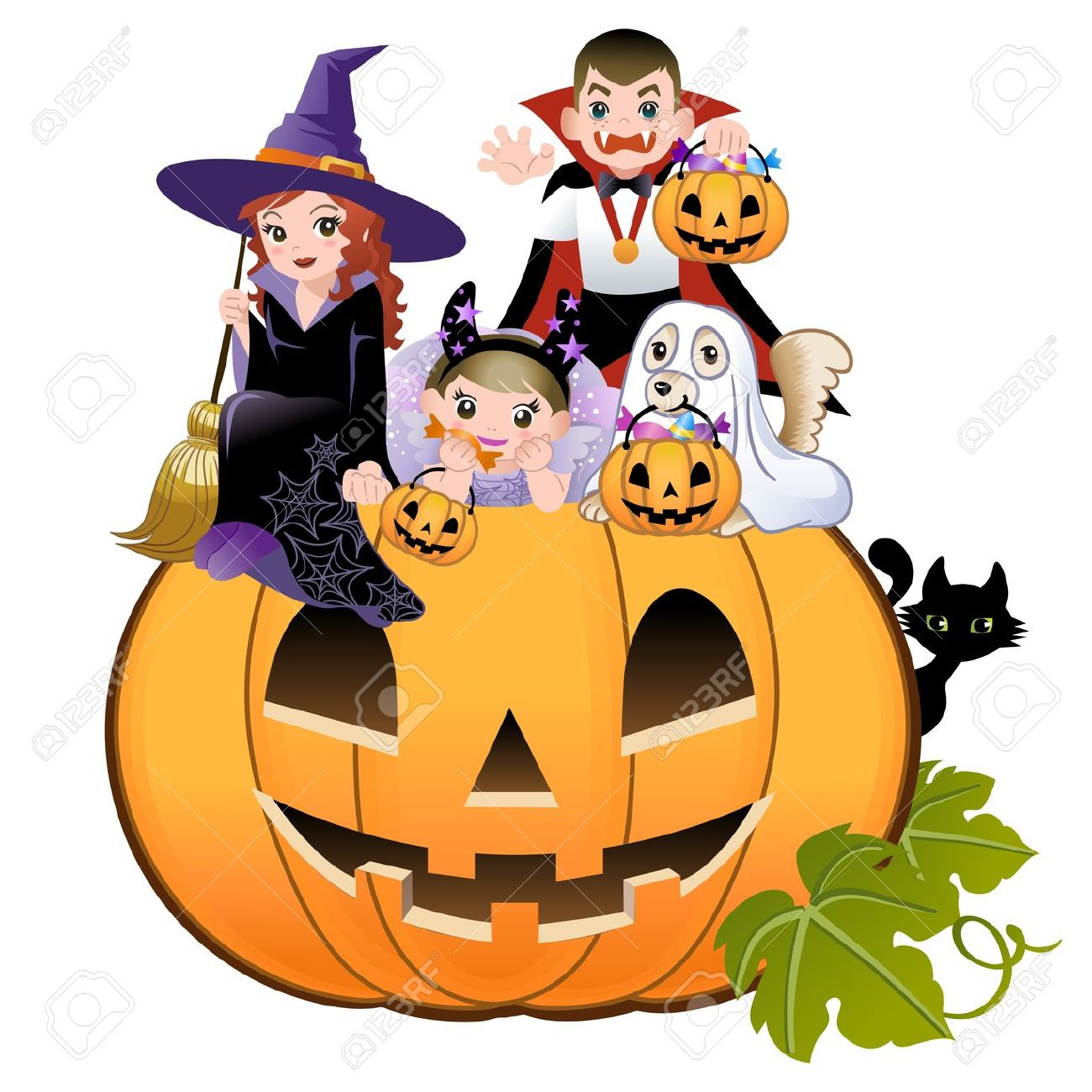 11,672 Halloween Kids Cliparts, Stock Vector And Royalty Free.