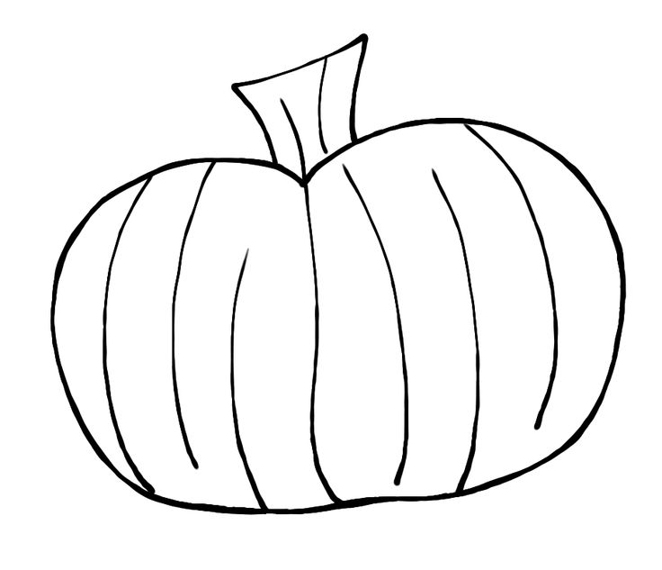 Pumpkin Clipart Black And White & Pumpkin Black And White Clip Art.