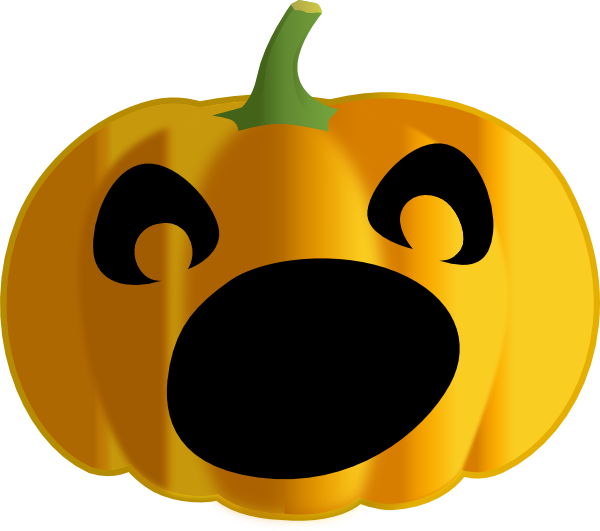 Dark Pumpkin Clip Art at Clker.com.
