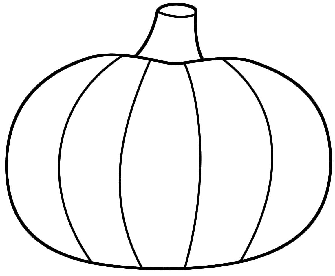 Best Pumpkin Outline Printable #22943.