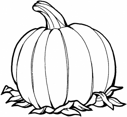 Awesome Pumpkin Coloring Pages 95 With Additional Free Coloring.