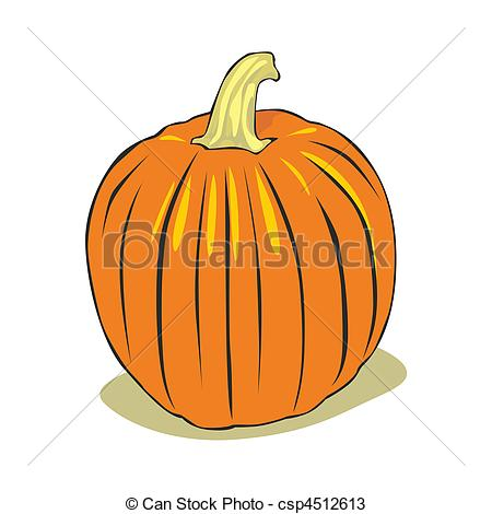 Vectors of pumpkin.