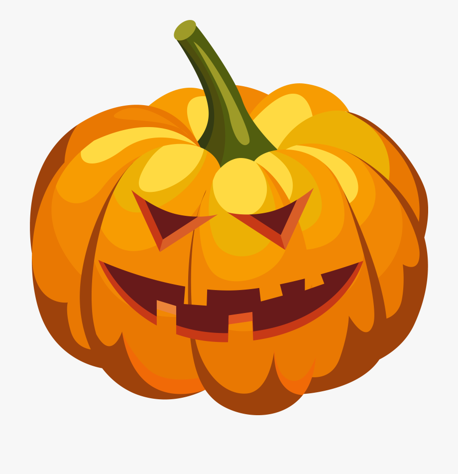 Scary Pumpkin Clipart.
