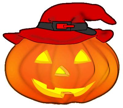 Cute Jack O Lantern Clip Art.