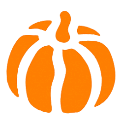 Free Pumpkin Stencil from The Graphics Fairy.
