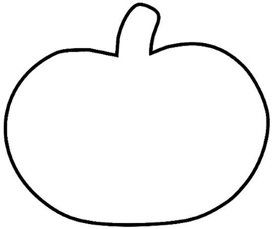 Pumpkin Outline Clip Art & Pumpkin Outline Clip Art Clip Art.