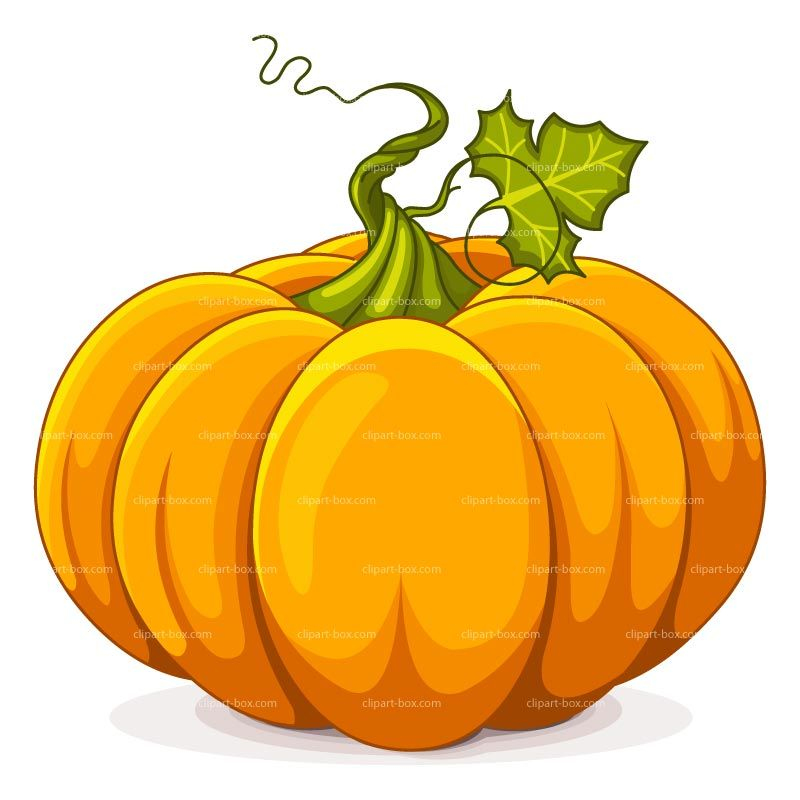 Primitive Pumpkin Clipart.