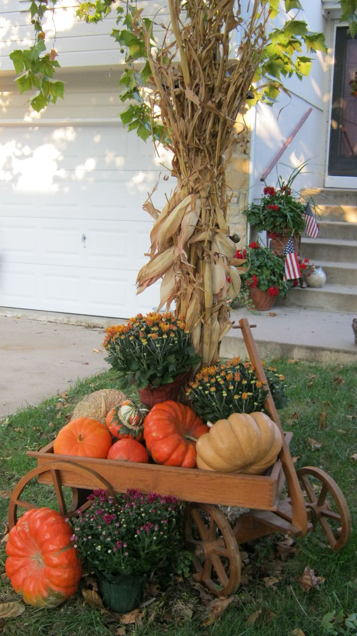 25+ best ideas about Corn Stalk Decor on Pinterest.