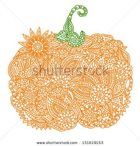 17 Best images about Pumpkin doodles on Pinterest.