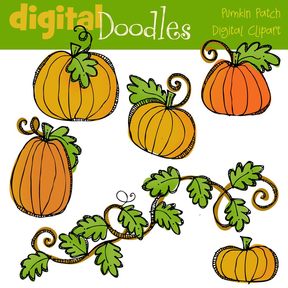 Thanksgiving Digital Clip Art.