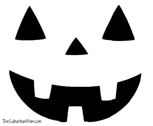 Pumpkin Face Clipart Clipground