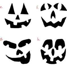 Halloween Pumpkin Face Clipart.