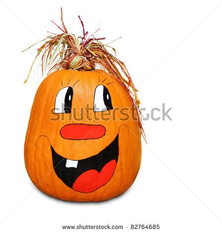 pumpkin face designs painted.