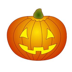 Drawing Pumpkin Faces.