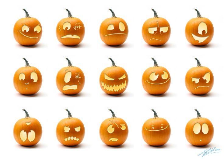 25+ best ideas about Pumpkin Faces on Pinterest.