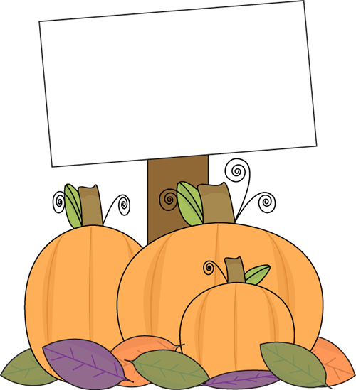 Pumpkin Farm Clipart.