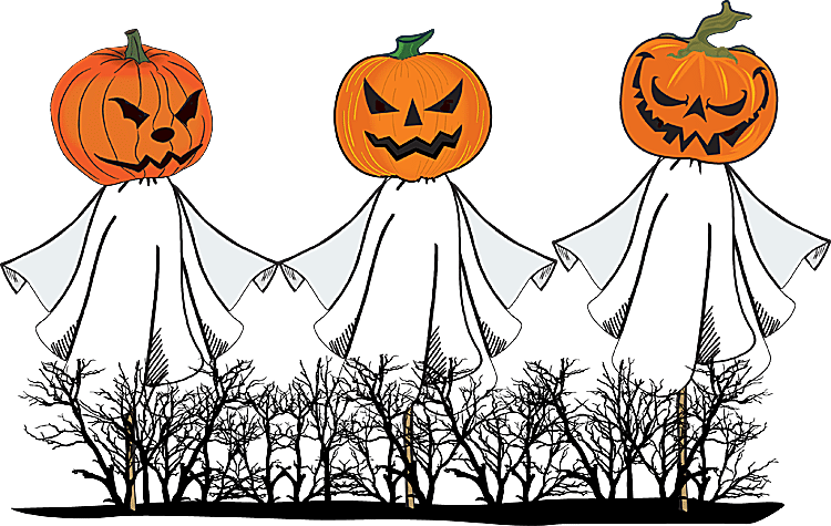 A Collection of Halloween Clip Art.