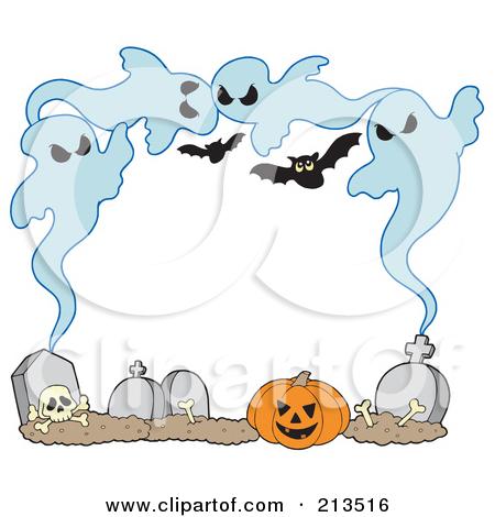 Clipart Spooky Halloween Ghost 4.