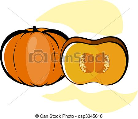 Stock Illustration of Fruits And Vegetables.