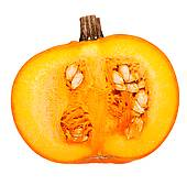 Pumpkin Cut Open Clipart.
