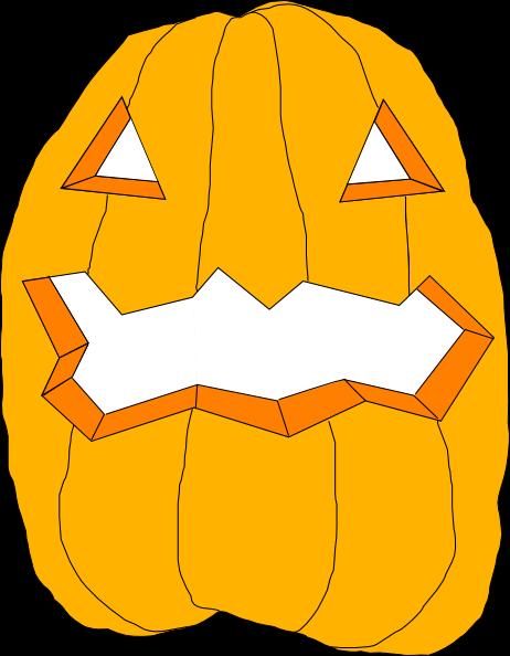 Pumpkin clip art Free Vector / 4Vector.