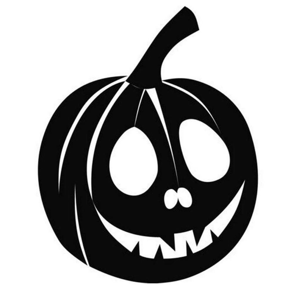 Popular Pumpkin Sticker Faces.