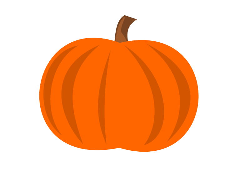Free Clipart: Plain Pumpkin.