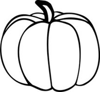 77+ Pumpkin Outline Clip Art.
