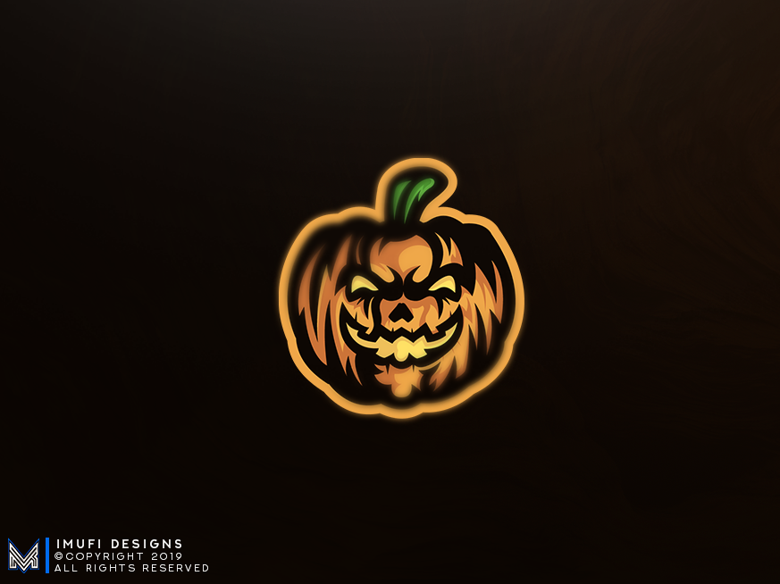 Pumpkin Mascot Logo by iMufi on Dribbble.