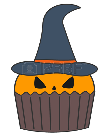 Showing post & media for Cartoon pumpkin cupcake.