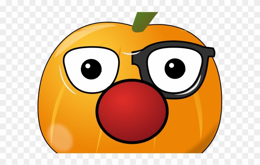 pumpkin nose clipart #5