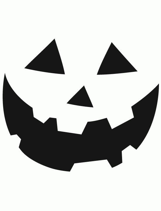 Clipart Pumpkin Face.