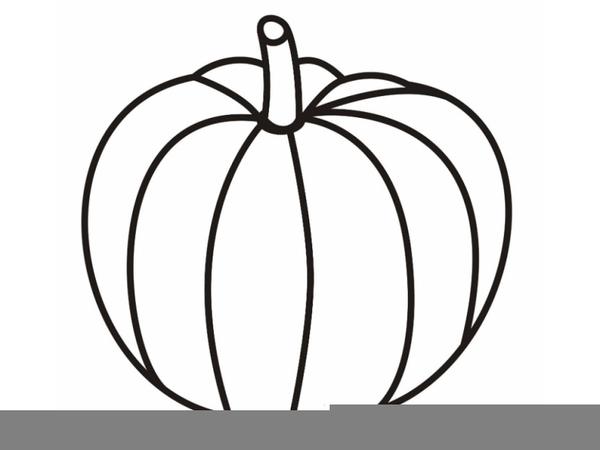 Free Clipart Pumpkin Outline.